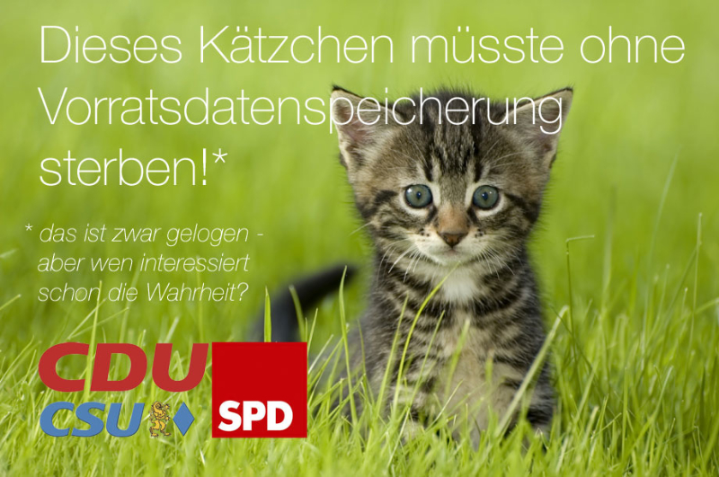 Auf die SPD ist halt Verlass!