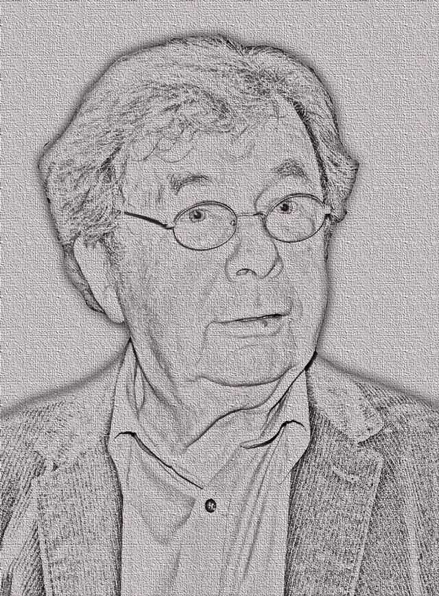 Helmut Karasek Zeichnung