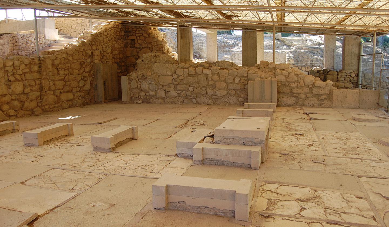 Minoischer Palast fon Phestos