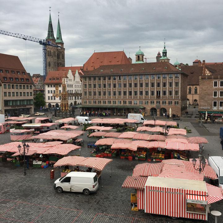 Nürnberger Hauptmarkt
