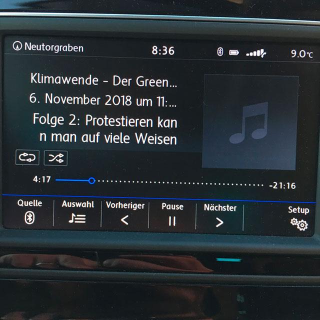 Titelbeschreibung Autoradio