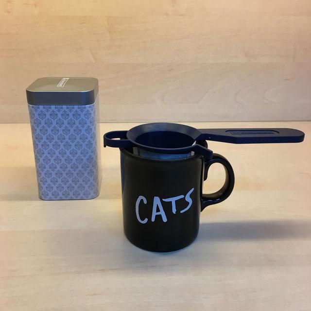 """Teetasse mit Aufdruck """"Cats"""""""