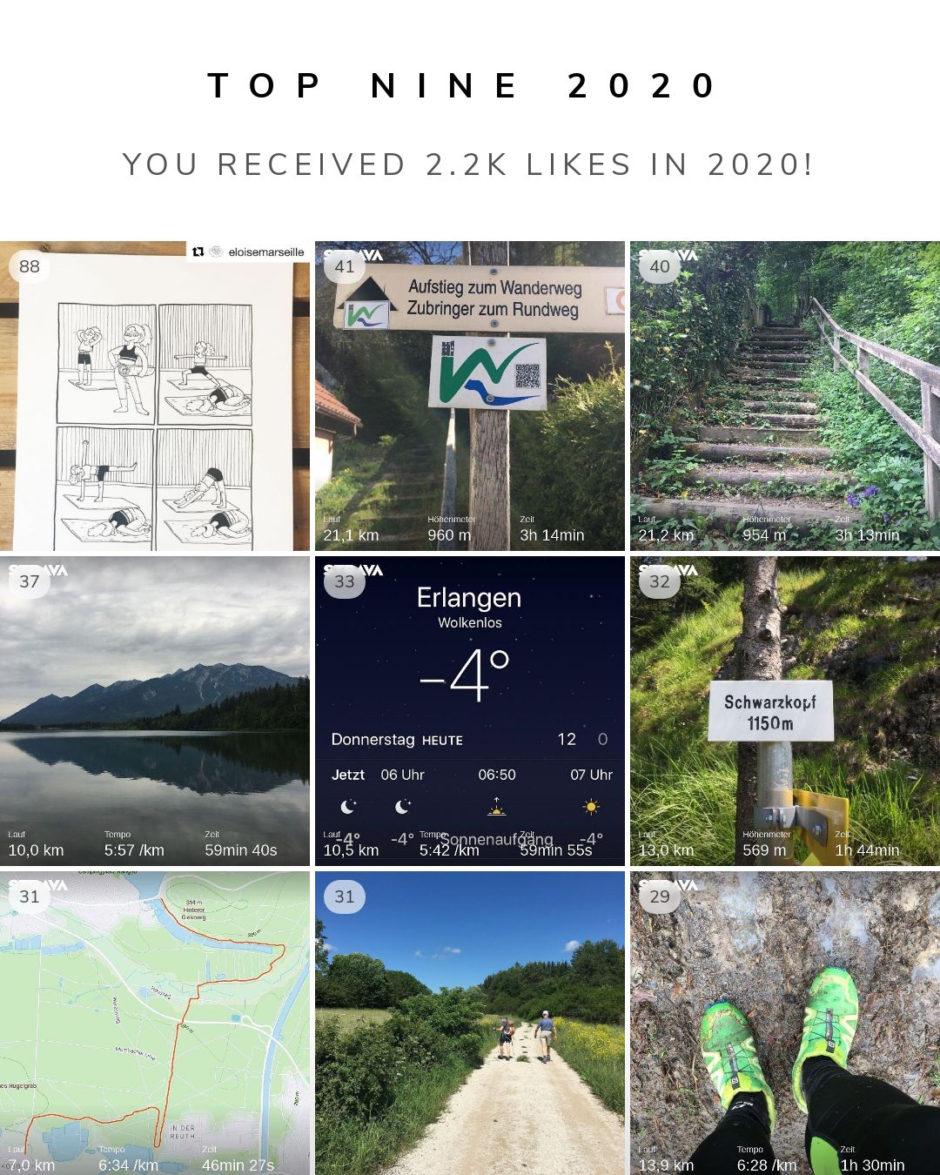 Instagram Fotos Top Nine