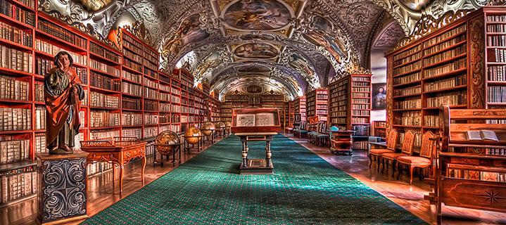 Bibliothek (Prag)