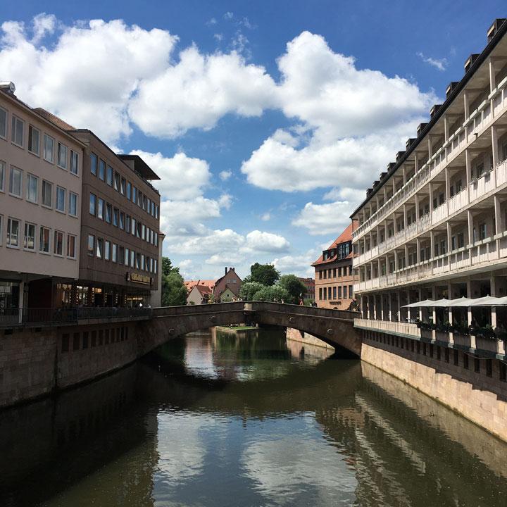 Fleischbrücke über Pegnitz